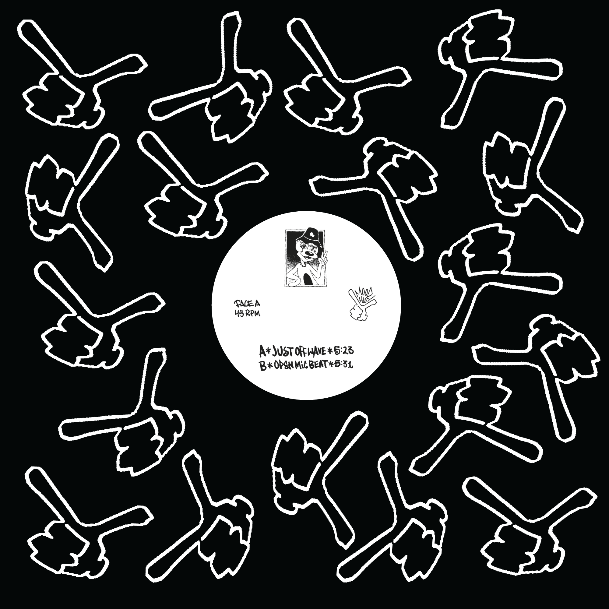 """CZ Wang & Neo Image/JUST OFF WAVE 12"""""""