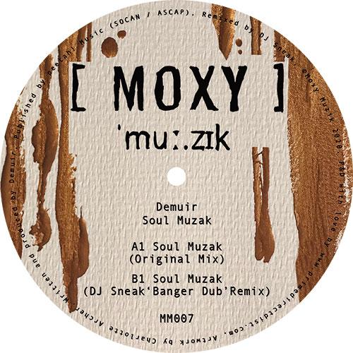 "Demuir/SOUL MUZAK (DJ SNEAK REMIX) 12"""