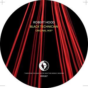 "Robert Hood/BLACK TECHNICIAN-UR RMX 12"""