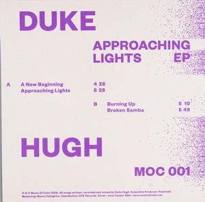 "Duke Hugh/APPROACHING LIGHTS EP 12"""