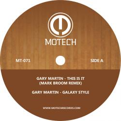 """Gary Martin/THIS IS IT 12"""""""
