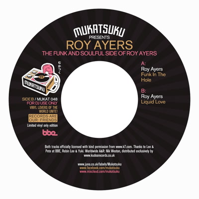 """Roy Ayers/FUNK IN THE HOLE 7"""""""