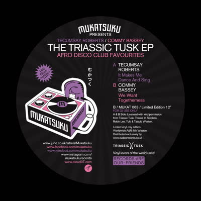 Various/MUKATSUKU: TRIASSIC TUSK EP 12""