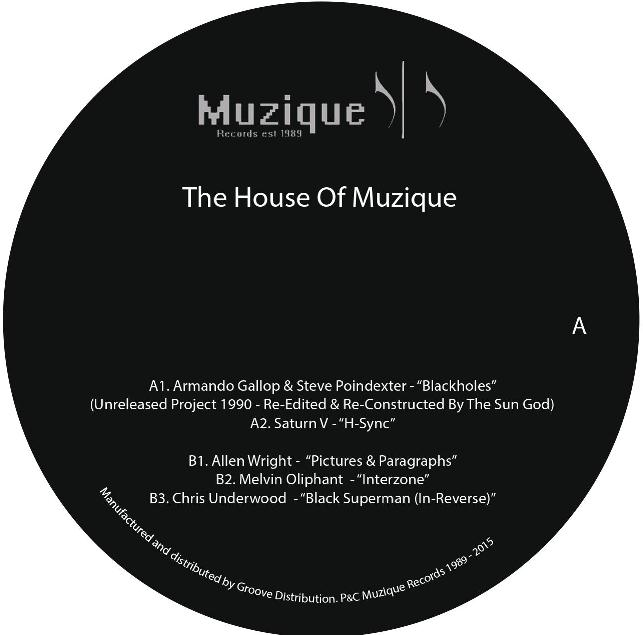 Various/THE HOUSE OF MUZIQUE 12""