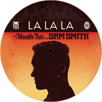 Naughty Boy & Sam Smith/LA LA LA 12""