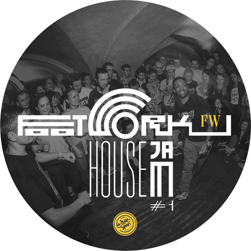 Various/FOOTWORK HOUSE JAM #1 12""