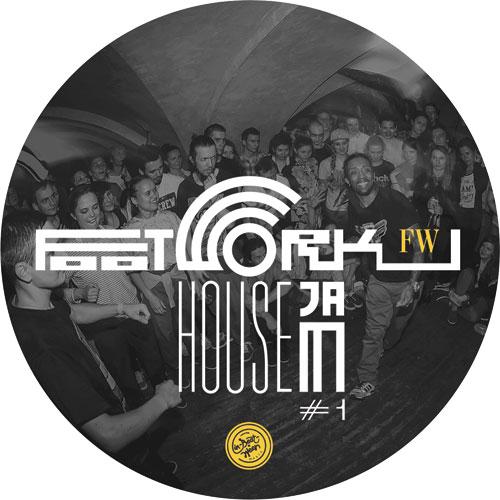 """Various/FOOTWORK HOUSE JAM #1 12"""""""