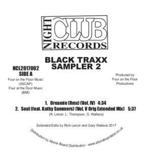 """Black Traxx/SAMPLER 2 12"""""""