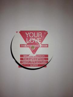 "Frankie Knuckles/YOUR LOVE RMX'S #1 12"""
