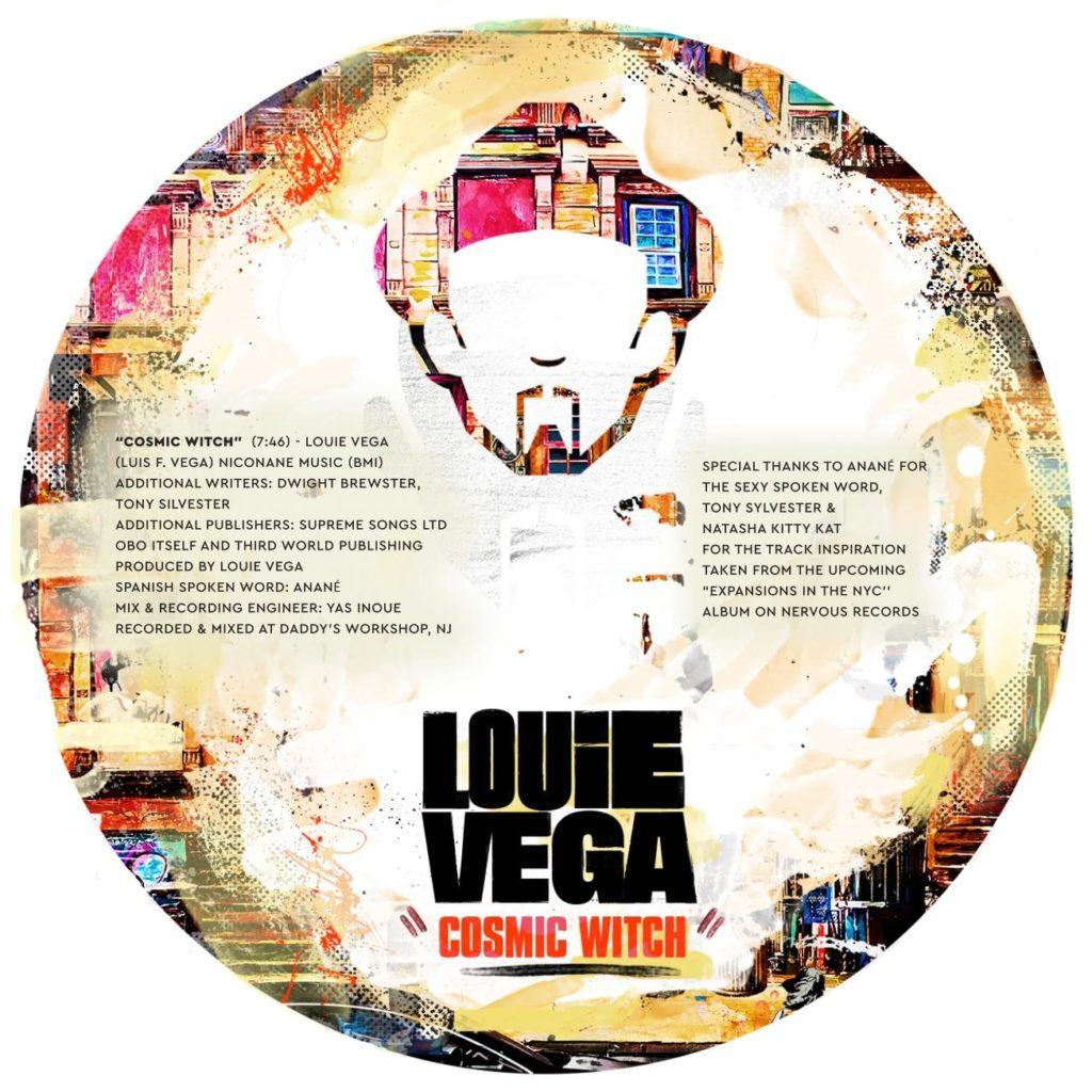 "Louie Vega/COSMIC WITCH 12"""
