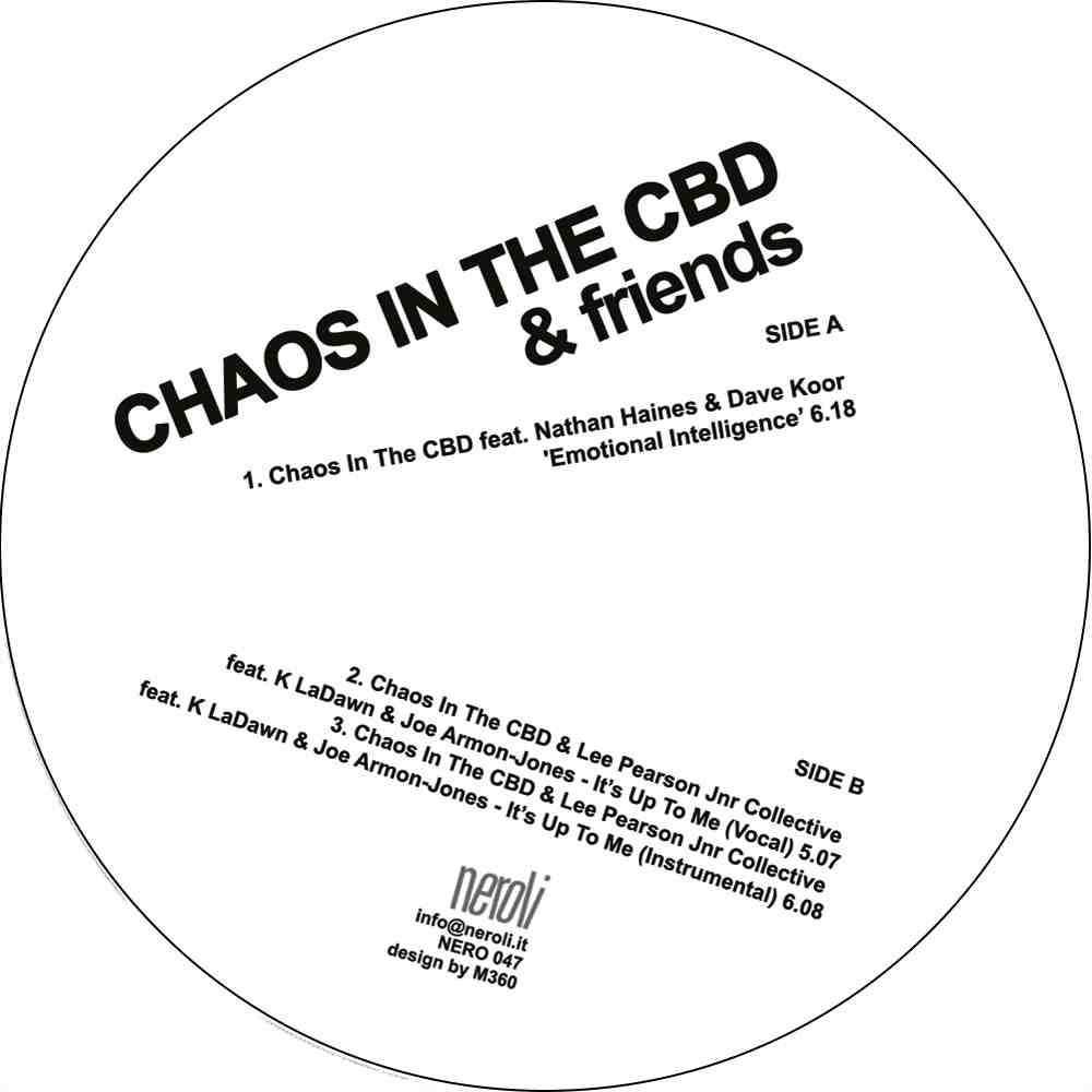 Chaos In The CBD/EMOTIONAL INTEL 12""