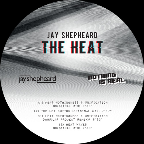 "Jay Shepheard/THE HEAT EP 12"""