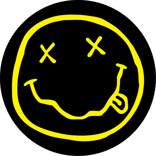 Nirvana/SMILEY FACE SLIPMAT