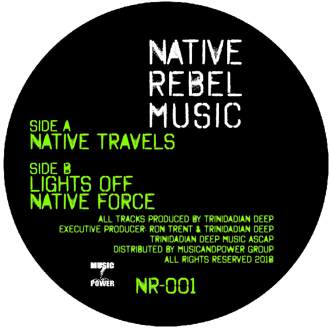 "Trinidadian Deep/NATIVE TRAVELS 12"""