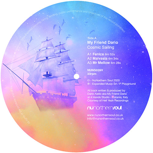 My Friend Dario/COSMIC SAILING EP 12""