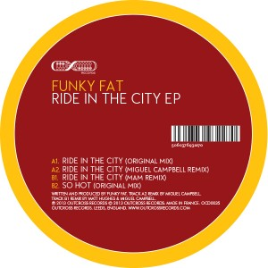 """Funky Fat/RIDE IN THE CITY 12"""""""