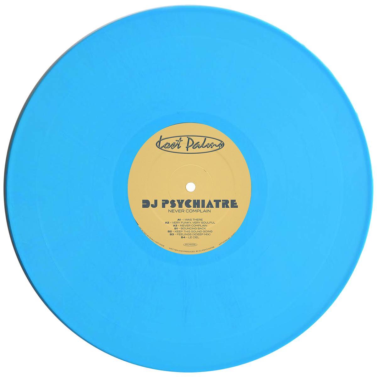 "DJ Psychiatre/NEVER COMPLAIN EP 12"""