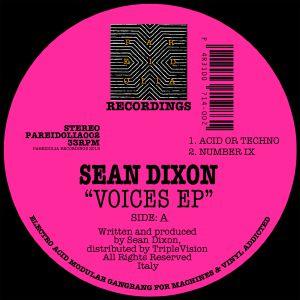 "Sean Dixon/VOICES EP 12"""