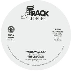 "9th Creation/MELLOW MUSIC 7"""