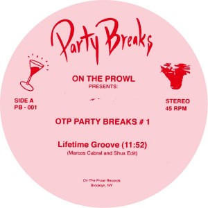 """Marcos Cabral & Shux/PARTY BREAKS #1 12"""""""