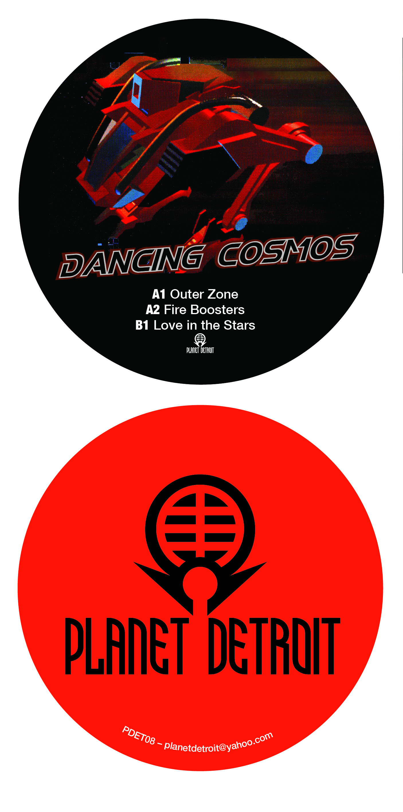 "DJ Steve Miller/DANCING COSMOS 12"""