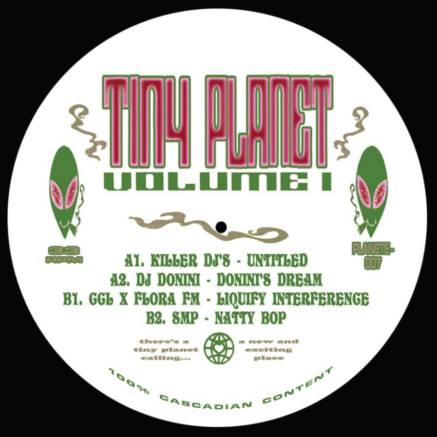 "Various/TINY PLANET VOLUME 1 12"""