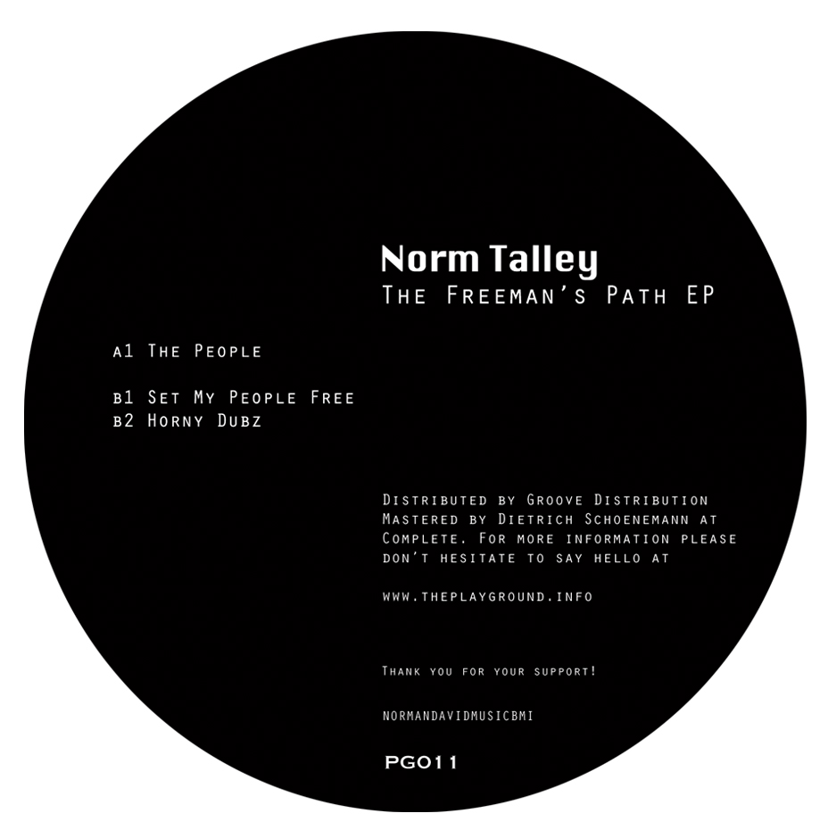 """Norm Talley/THE FREEMAN'S PATH EP 12"""""""