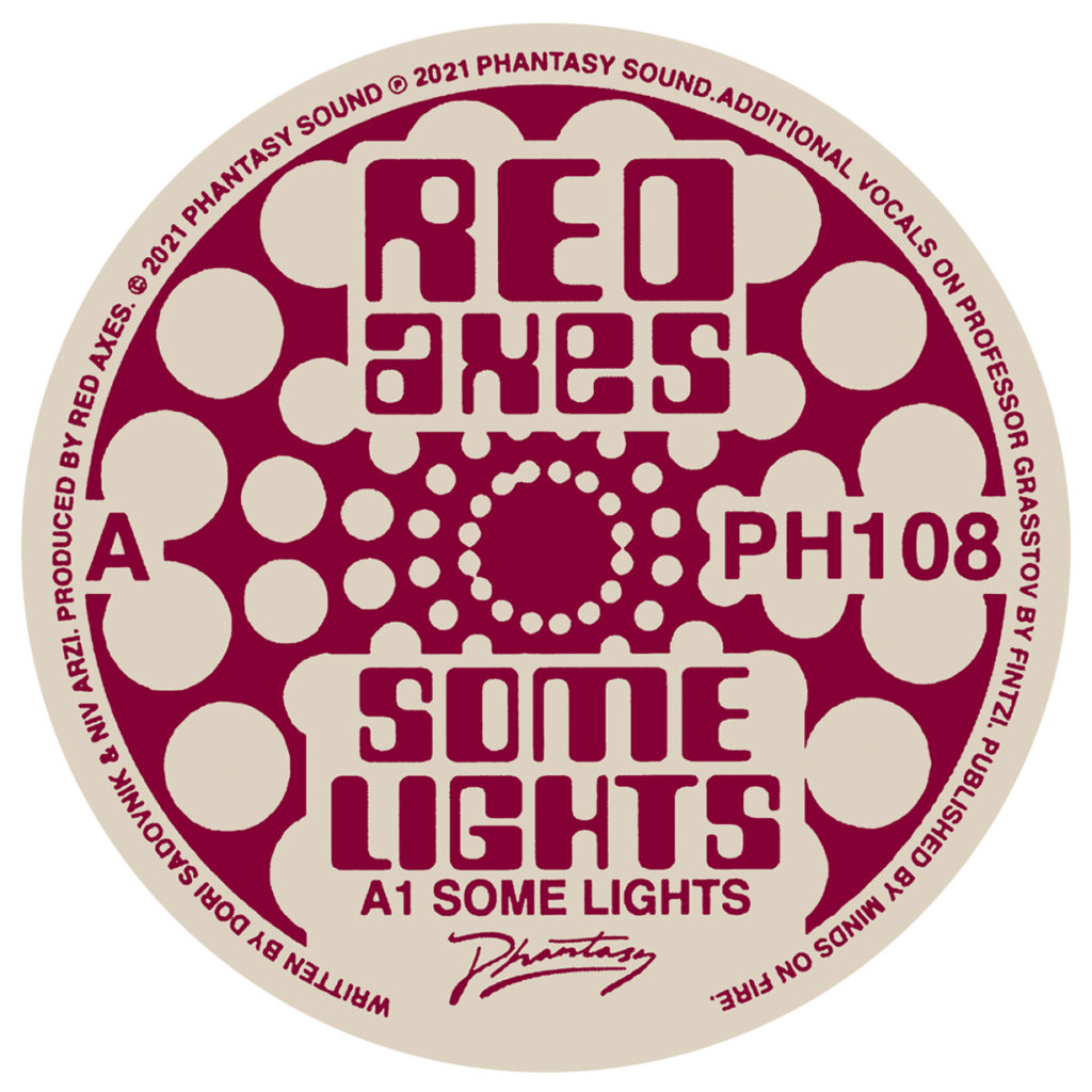 """Red Axes/SOME LIGHTS 12"""""""