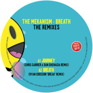 "Mekanism/BREATH: THE REMIXES 12"""