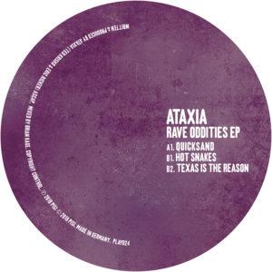 "Ataxia/RAVE ODDITIES EP 12"""