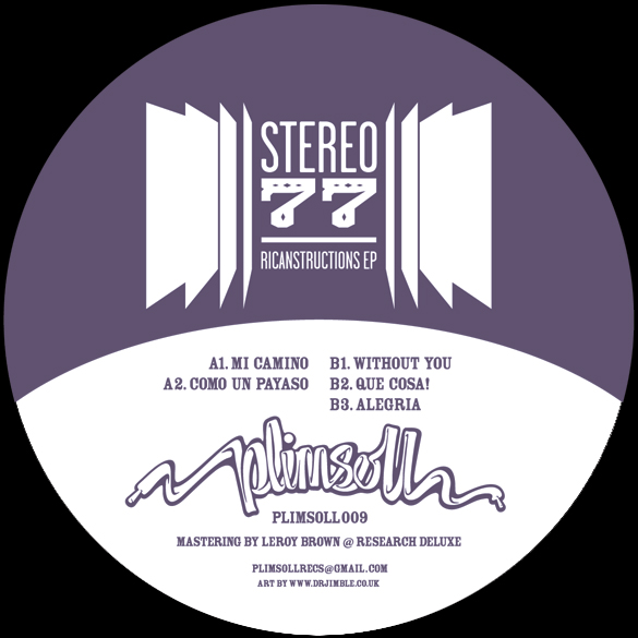 """Stereo 77/RICANSTRUCTIONS EP 12"""""""
