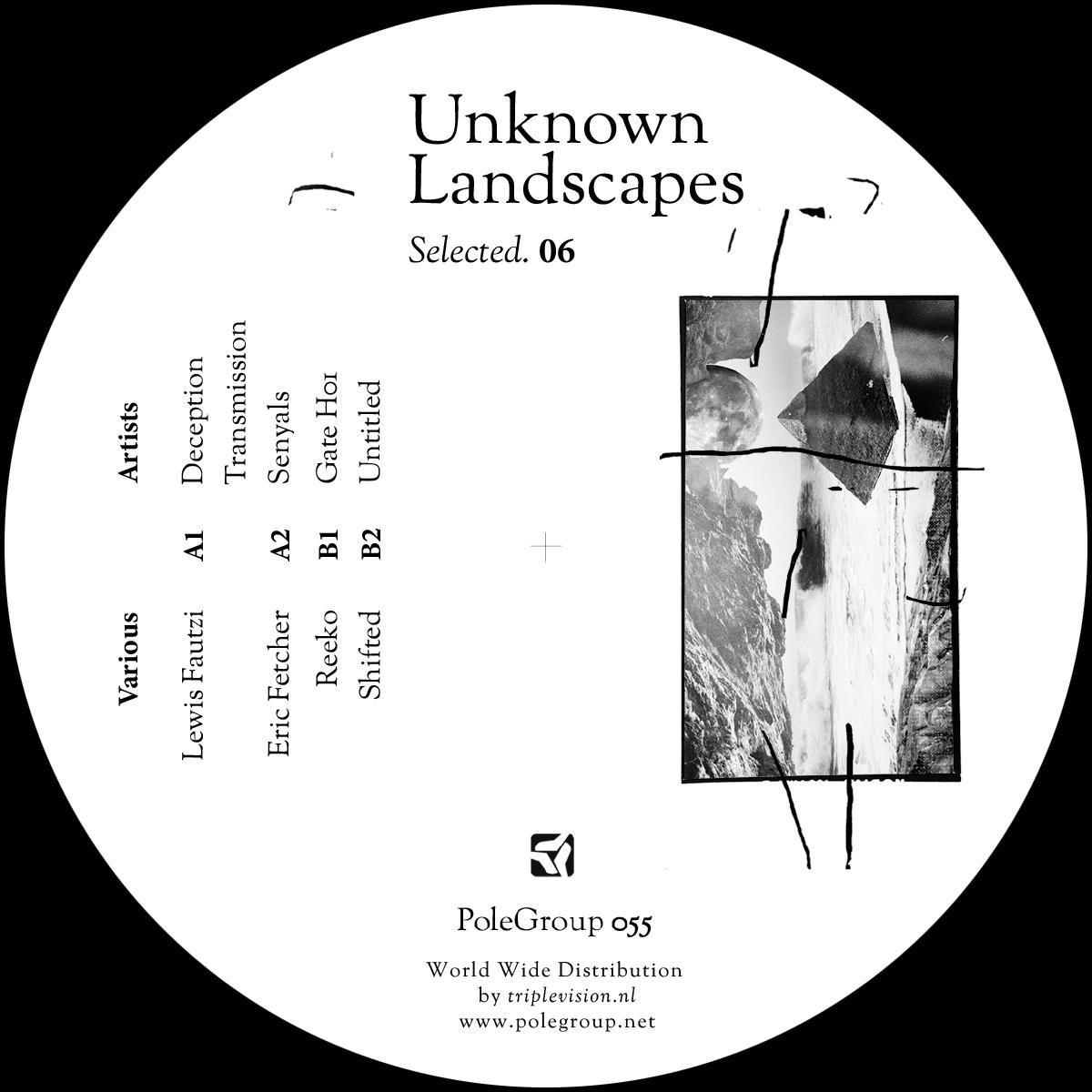 "Various/UNKNOWN LANDSCAPES #6 SMPLR 12"""