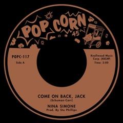 "Nina Simone/COME ON BACK, JACK 7"""