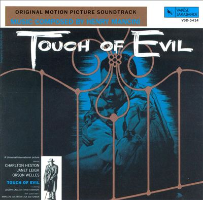 Henry Mancini/TOUCH OF EVIL LP