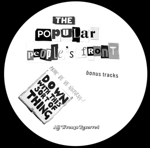Popular People's Front/PPFAMMO1 12""