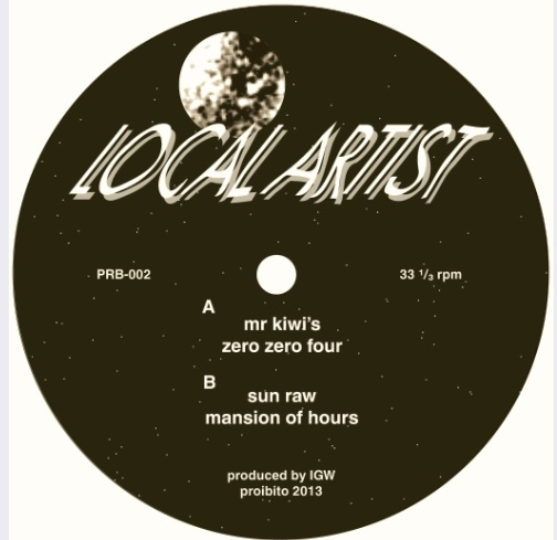 "Local Artist/LOCAL ARTIST EP 12"""