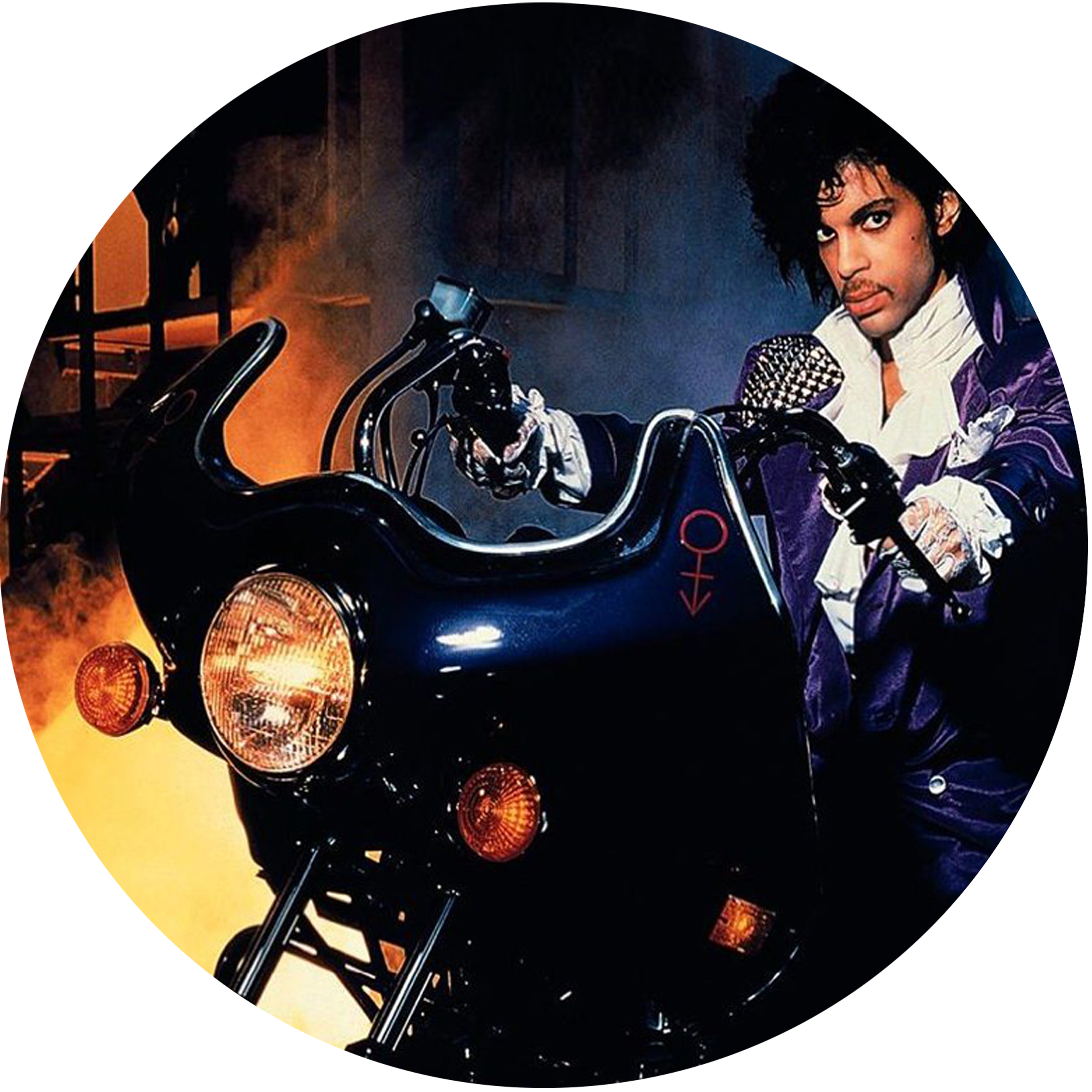 Prince/PURPLE RAIN SLIPMAT