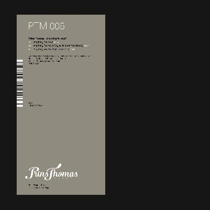 """Prins Thomas/ANYTHING FOR YOU? 12"""""""