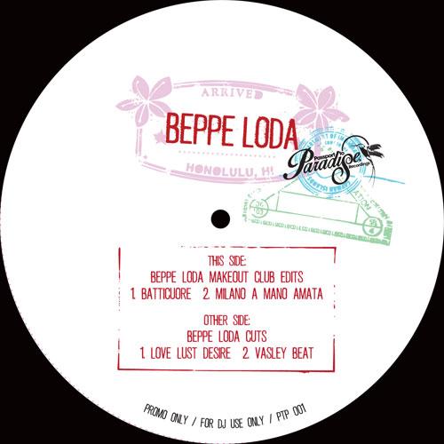 "Beppe Loda/MAKEOUT CLUB EDITS 12"""