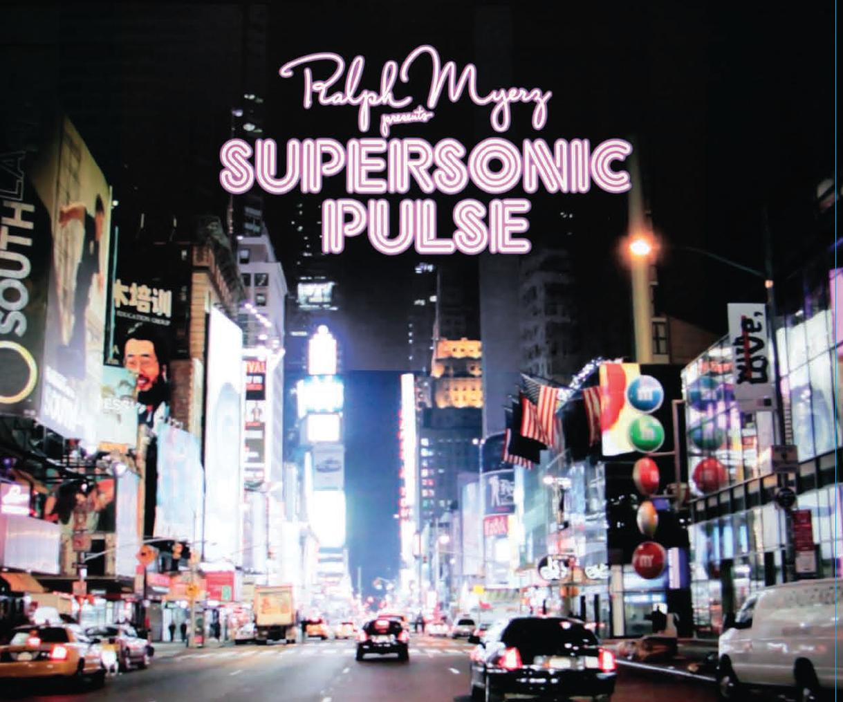 Ralph Myerz/SUPERSONIC PULSE LP + CD