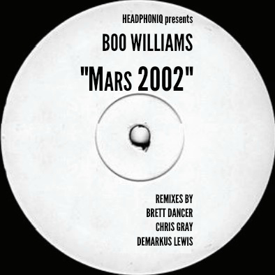Boo Williams/MARS 2002 (1-SIDED) 12""