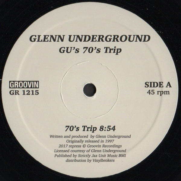 """Glenn Underground/GU'S 70""""S TRIP 12"""""""