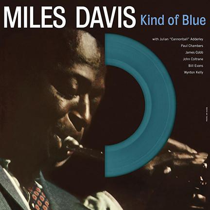 Miles Davis/KIND OF BLUE (BLUE WAX) LP