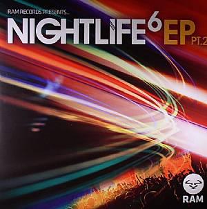 "Andy C/NIGHTLIFE VOL. 6 EP #2 D12"""
