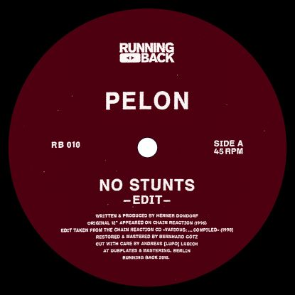 Pelon/NO STUNTS 12""