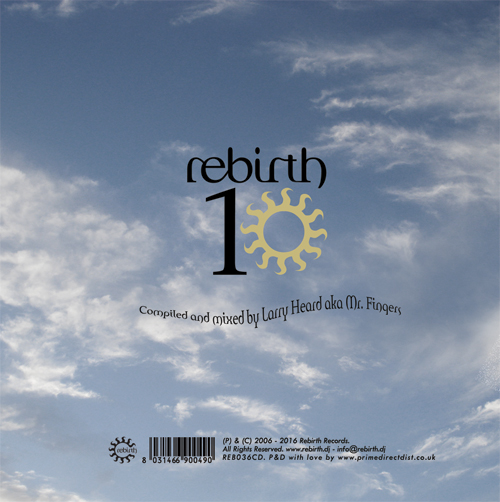 Larry Heard/REBIRTH 10 (MIXED) DCD