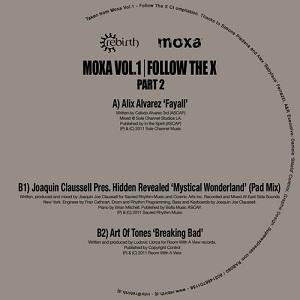 "Various/MOXA VOL.1 PT2 FOLLOW THE X 12"""