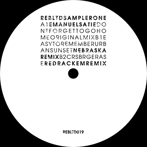 Various/REBIRTH LTD SAMPLER ONE 12""