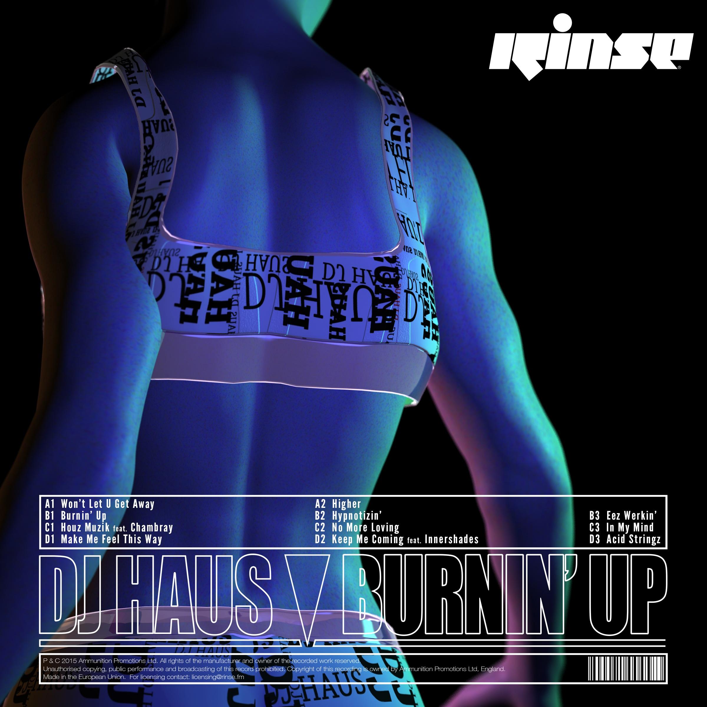 DJ Haus/BURNIN' UP DLP