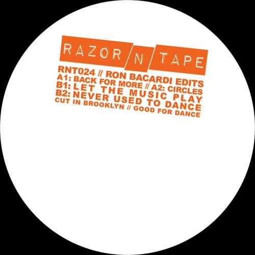 "Ron Bacardi/RAZOR-N-TAPE EDITS 12"""